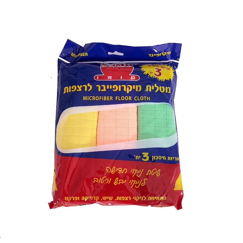 סומו מקרופייבר רצפה 3 יח'